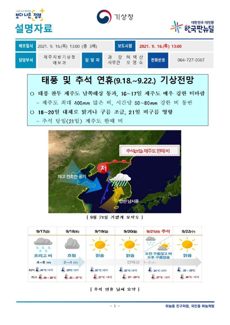 20210916[설명자료] 태풍 및 추석연휴 기간 기상전망_제주청_최종001.jpg