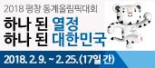 2018년 평창 동계올림픽! 하나 된 열정 하나 된 대한민국