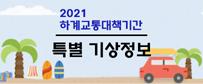 2021 하계교통대책기간 특별 기상정보